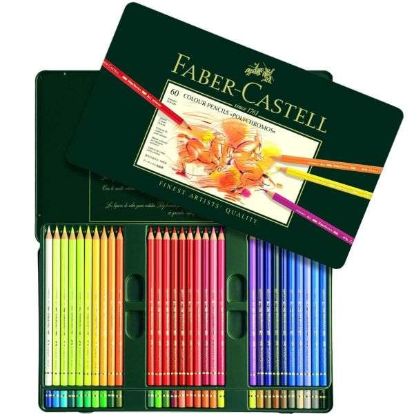لیست قیمت 26 مدل مداد رنگی پلی کروم با لینک خرید