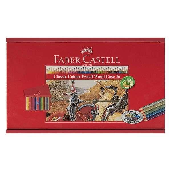 لیست قیمت 30 مدل بهترین مداد رنگی فابر کاستل باکیفیت + خرید