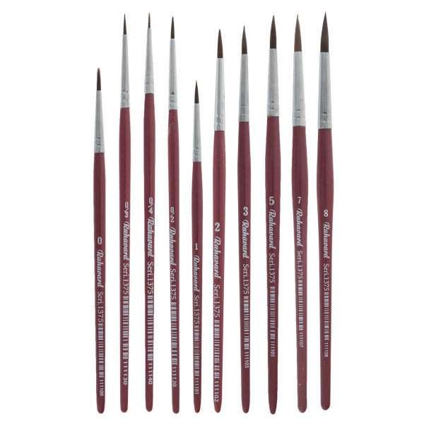 30 مدل قلمو نقاشی حرفه ای، آبرنگ و رنگ روغن + قیمت خرید